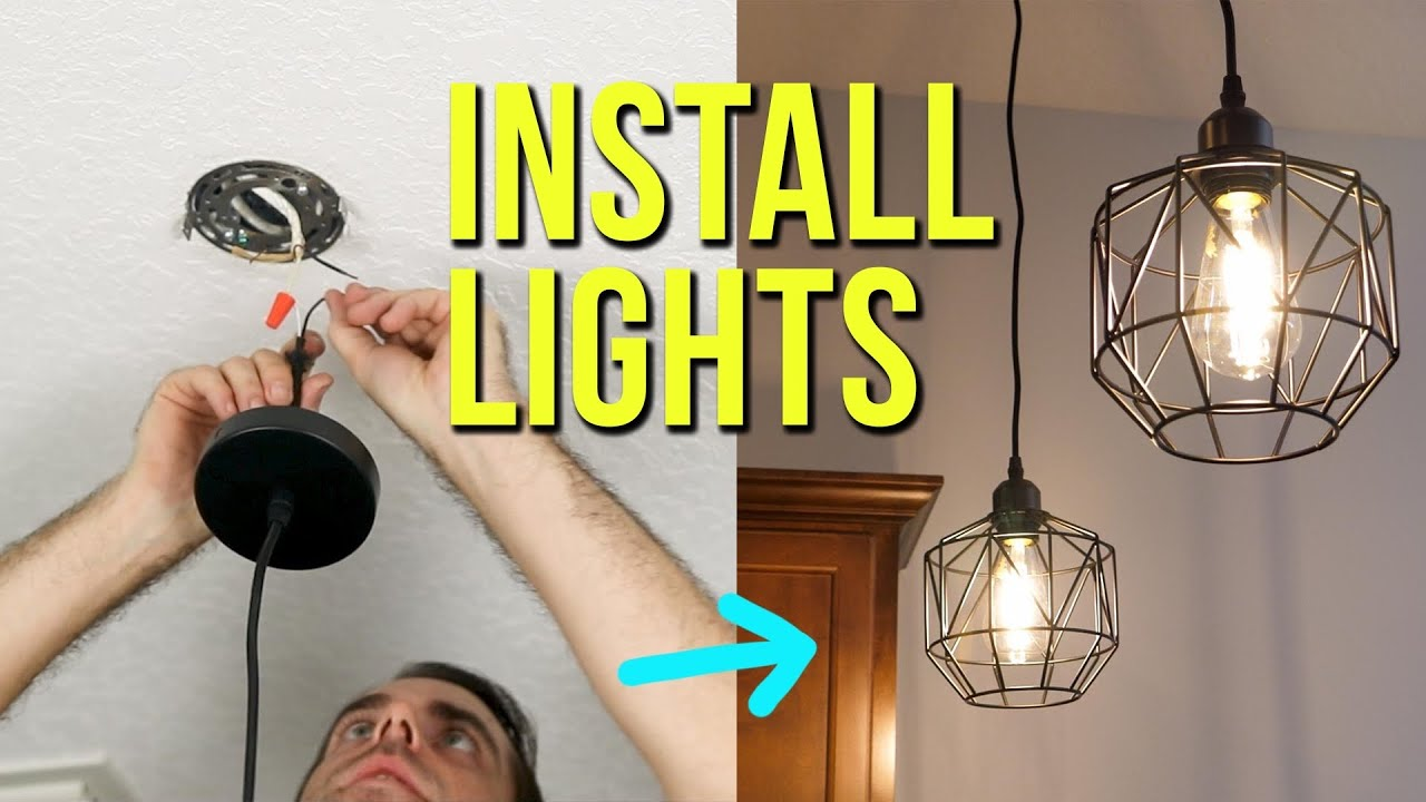 How To Install Ceiling Light Fixtures New Replacement Pendant Lighting You