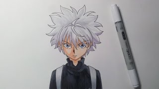 Drawing Killua Zoldyck - Hunter X Hunter