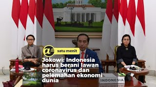 Raja Salman pimpin KTT G20, Ini poin penting dari Jokowi