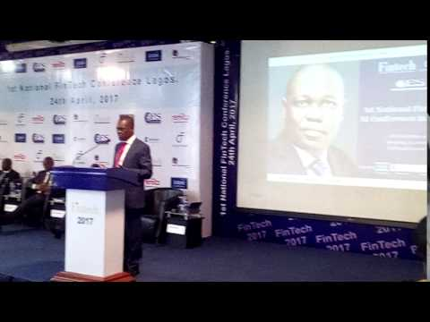 The 1st National Fintech & AI Conference with Ade Ayeyemi - Group CEO Ecobank