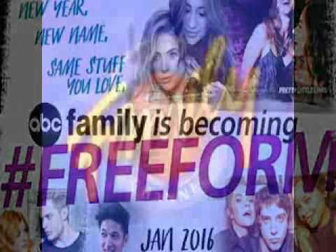 ABC Family Becoming Freeform in January 2016 - YouTube