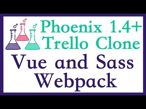 Setting up Vue and SASS (Phoenix Trello Part 3) thumbnail