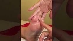 Vyöhyketerapia jalkahieronta 3-1