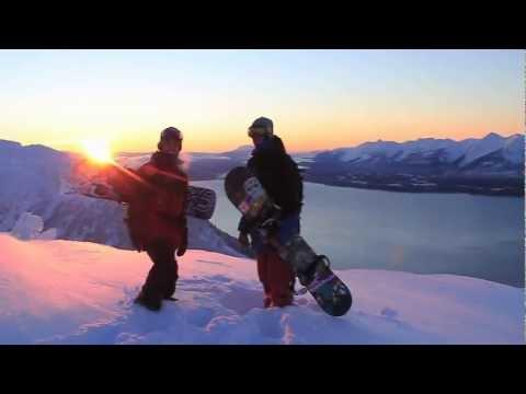Juneau, Alaska Snowboard Video   Mark Rainery
