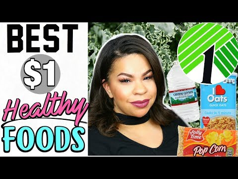 The BEST HEALTHY FOODS To Buy At DOLLAR TREE! SHOCKING $1 HEALTHY FOODS YOU SHOULD BUY!