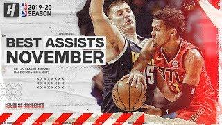 NBA's Best Assists | November 2019-20 NBA Season