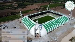 Spor Toto Akhisar Stadyumu'nda son durum