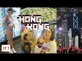 FIRST TIME IN HONG KONG    VLOG            INSANE Peak City View   Fire Dumplings Food   Girls   Nightlife