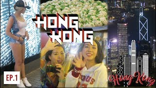 FIRST TIME IN HONG KONG... VLOG!! ?? INSANE Peak City View + Fire Dumplings Food + Girls + Nightlife