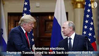 Trump claims Russia isn