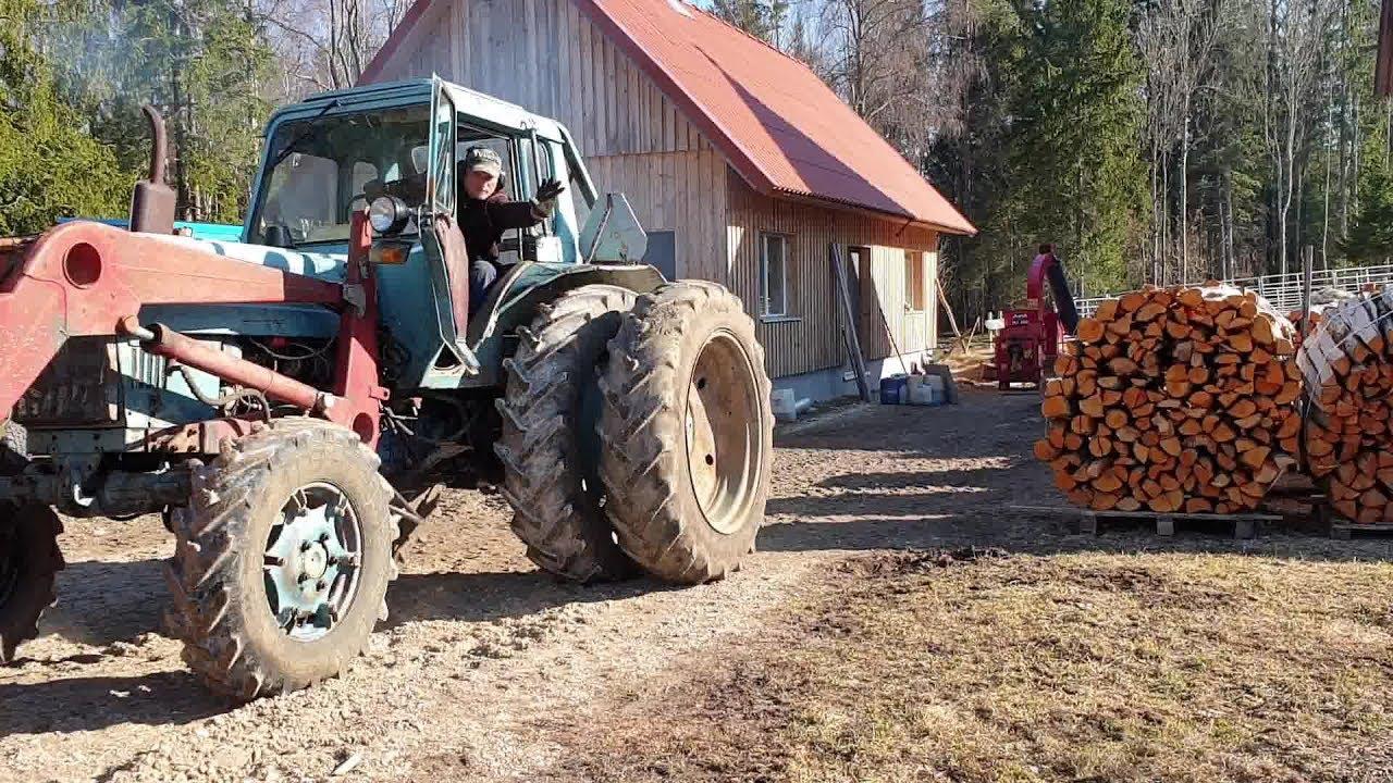 T2E1 Belarus MTZ-82 restoration project. Episode 1