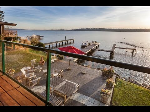 Stunning Lakefront Luxury in Kirkland, Washington