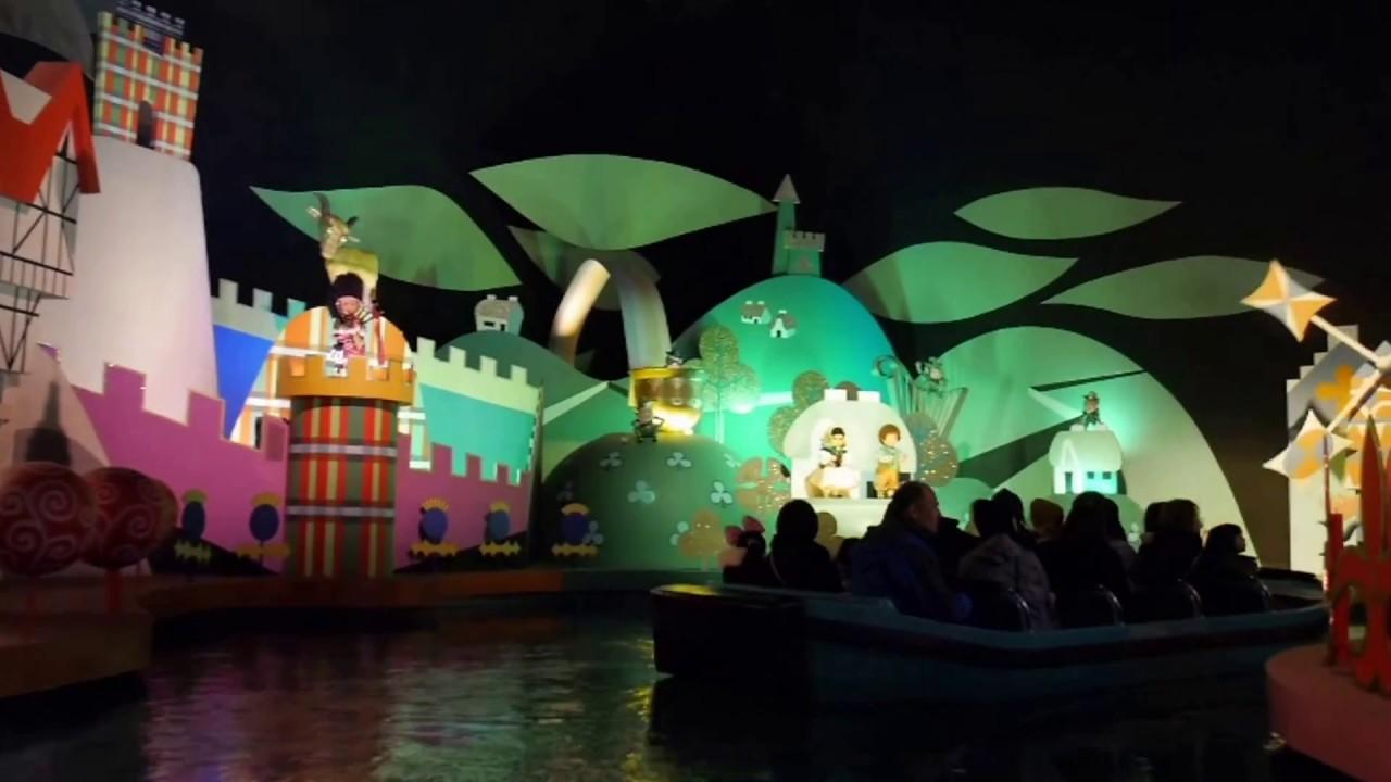 東京迪士尼-小小世界 - YouTube