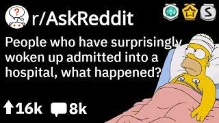 Randomly Woken Up in Hospital, What Happened? (Reddit Doctors Stories r/AskReddit)
