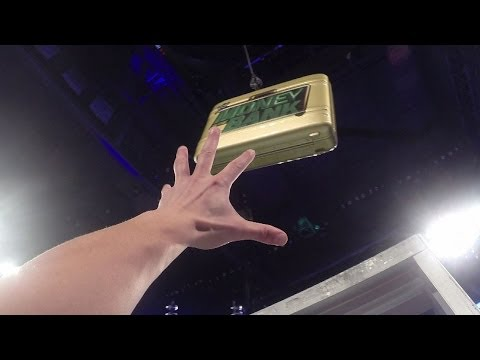 Thumbnail: Climb the ladder and grab the Money in the Bank briefcase! - GoPro Video