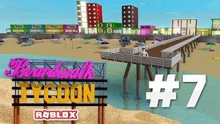 BOARDWALK TYCOON #7 - WE ARE BACK!!! (Roblox Boardwalk Tycoon)