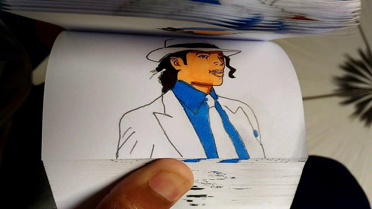 Michael jackson FlipBook Animação