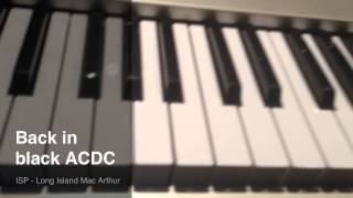 Download How To Play Back In Black By ACDC On The Piano- Super Easy MP3 song and Music Video