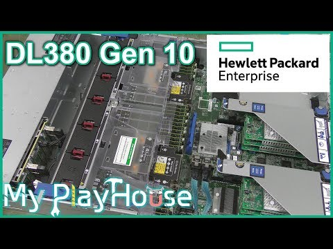 HPE ProLiant DL380 Gen10 Rack Server Walkthrough - 634 - YouTube