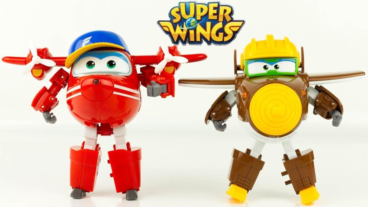 Well-known Super Wings Saison 2 TODD et FLIP Nouveaux Personnages Robots  WF74