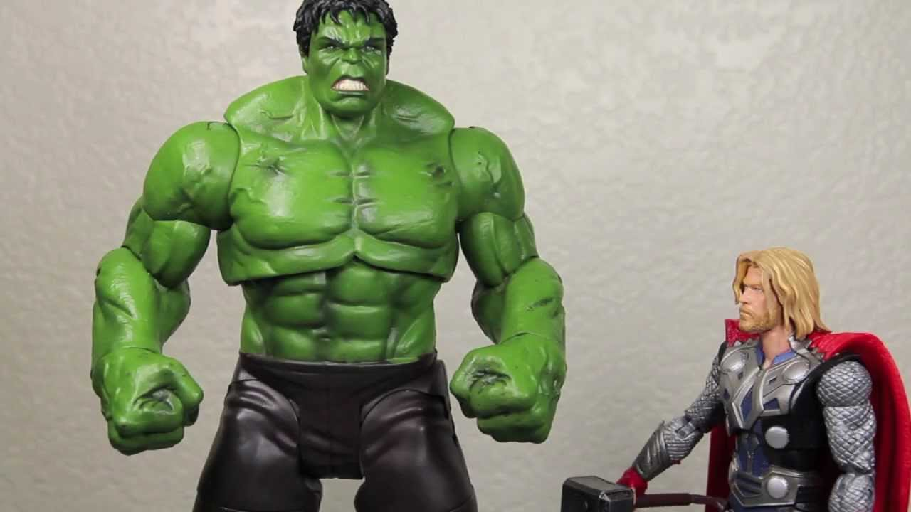 The Avengers Marvel Select Hulk Movie Action Figure Toy Review Youtube
