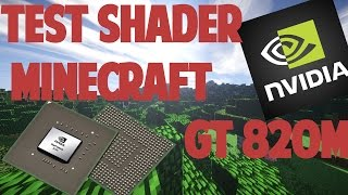 Minecraft Shader - Test Carte Graphique Nvidia GEFORCE 820M