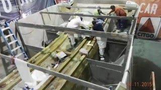 Workboat Catamaran Fiberglass made in USA