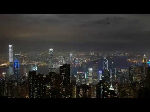 A Symphony of Lights from Victoria Peak in 4K