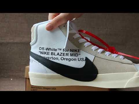 Authentic Nike x Off White Blazer Mid