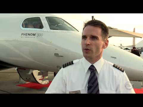 Embraer Pilot Drew Albares Talks about the Phenom Business Jets