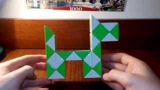 Как сделать собаку из змейки рубика Урок №1