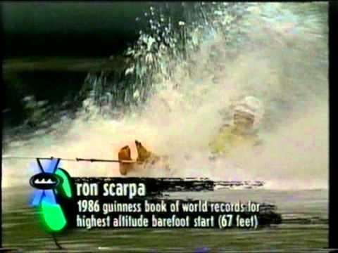 Barefoot Water-ski Jumping Xgames 1995(Justin Seers)