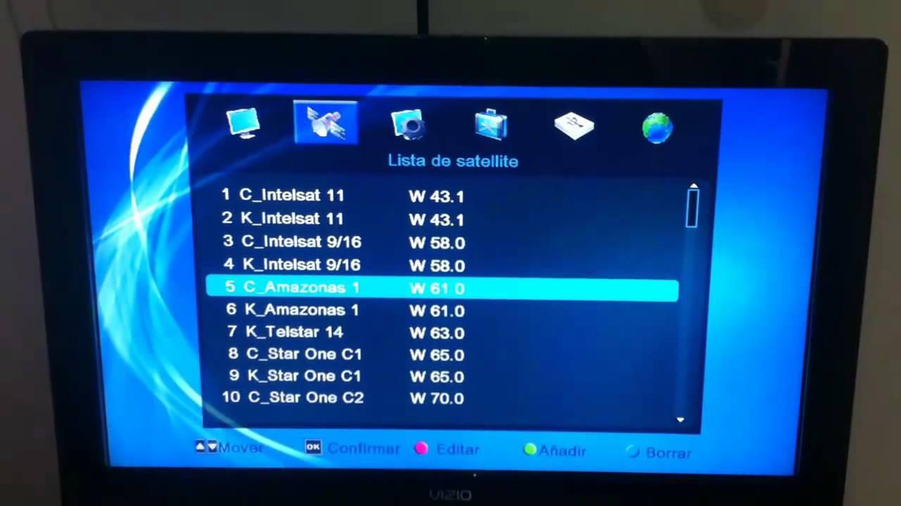 Configurar I Box Openbox S10 Con Hispasat W30 Y Amazonas