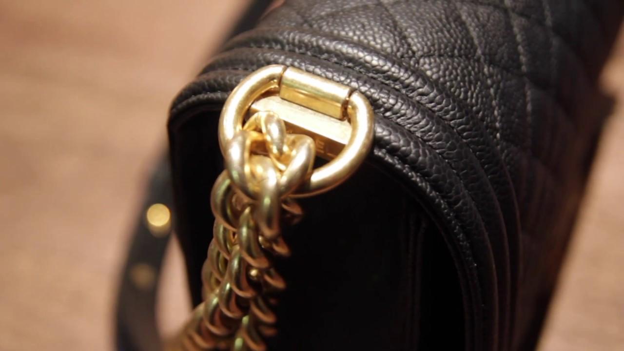 c81a2b13 Chanel Boy Bag Unboxing