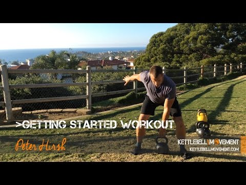 Getting Started With Kettlebells Workout