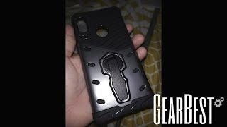 Luanke Armour Series Stand Case for Xiaomi Redmi Note 5 - BLACK
