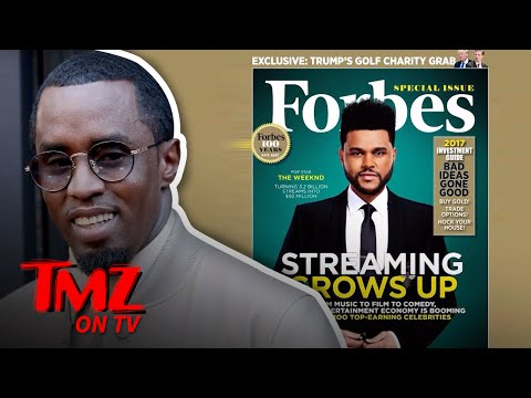 Diddy Beats Beyonce In Being The Highest Paid Celeb According To Forbes! | TMZ TV
