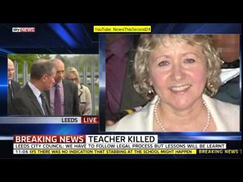 Sky News Coverage: Teacher stabbed to death at Leeds school