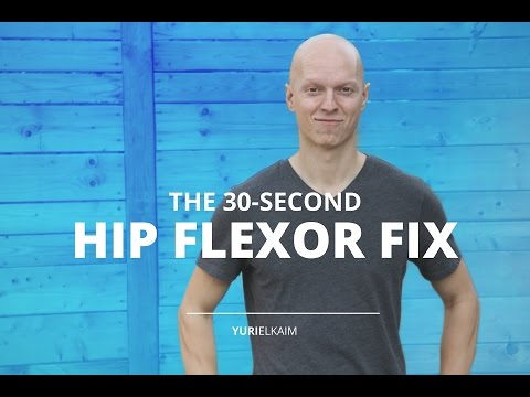 The 30-Second Fix for Tight Hip Flexors