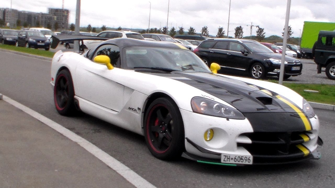 Dodge Viper Srt10 Acr X Sound Hd Youtube