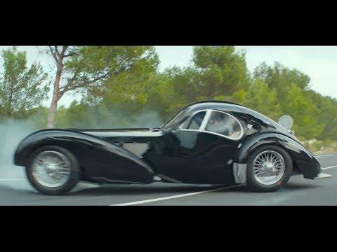 Bande Annonce Overdrive, le film avec une Bugatti Type 57 Atlantic