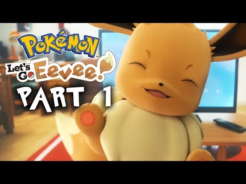 POKEMON LETS GO PIKACHU & EEVEE Walkthrough Gameplay Part 1 - INTRO (Full Game)