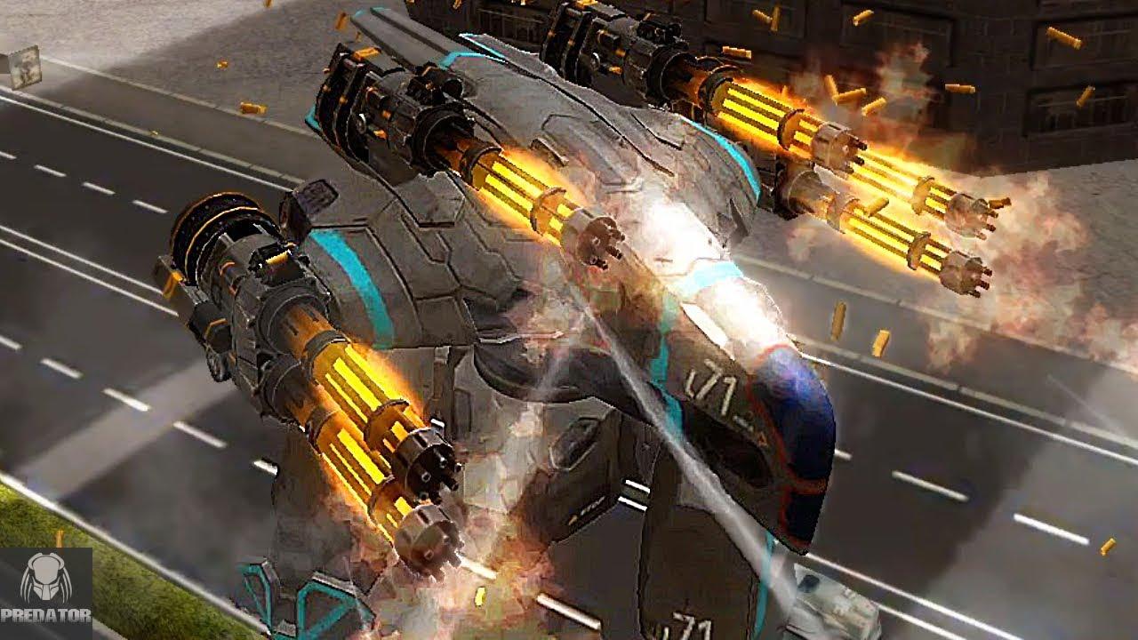 MRK II Raven Punisher Shredding Robots | How Does It ...