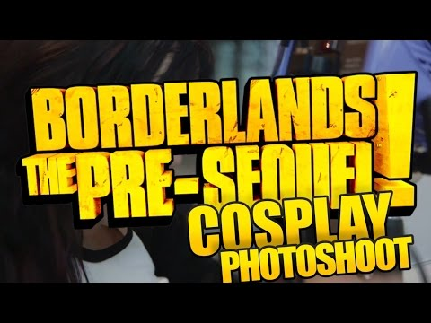 Behind The Scenes At The Borderlands: The Pre-Sequel Cosplay Contest  Photo Shoot (U.S.)