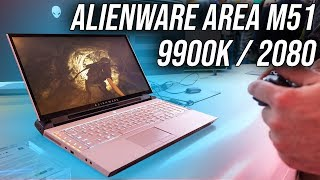 Alienware's New Area 51m Gaming Laptop!