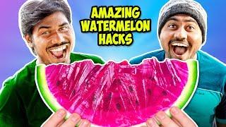 Jello Watermelon Fun Challenge | Mad Brothers DIY
