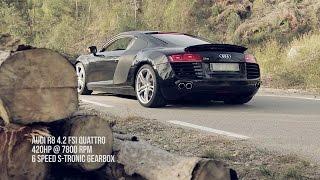 Audi R8 4.2 FSI V8 w/ Armytrix Cat-Back Titanium Mufflers by allDesign.es