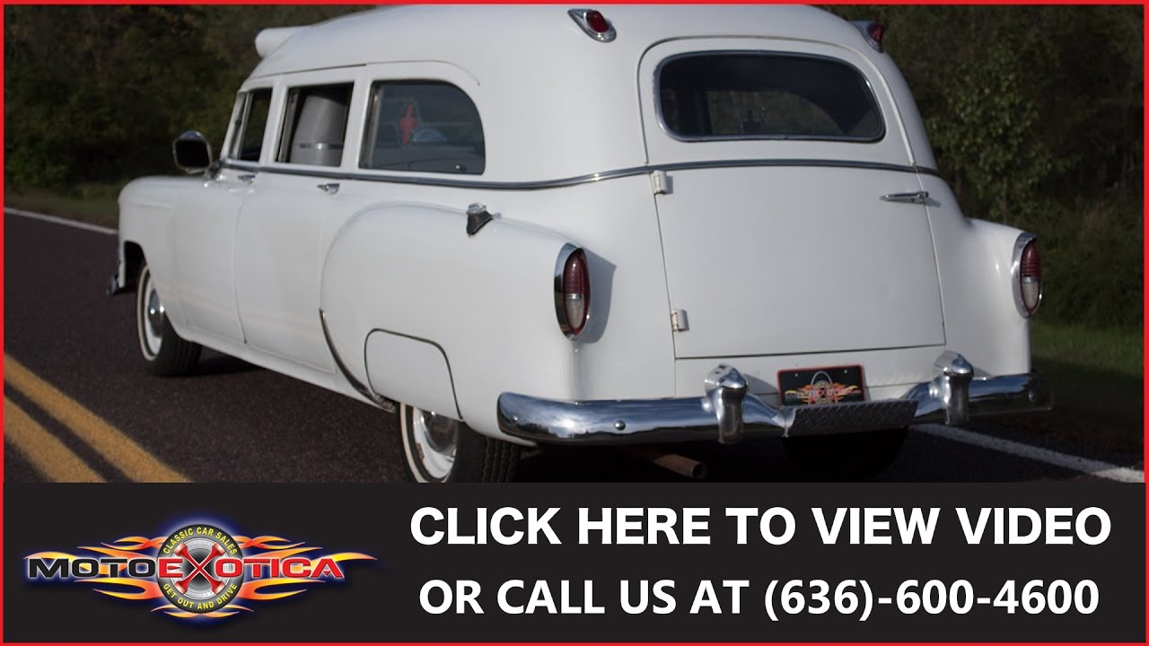 1954 Chevrolet 150 Ambulance (SOLD)