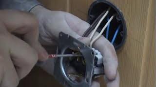 Как подключить розетку(Предлагаю вам видео на тему