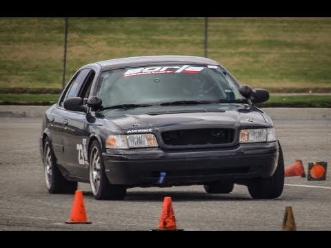 Track-Prepped 2008 Ford Crown Victoria Police Interceptor - One Take